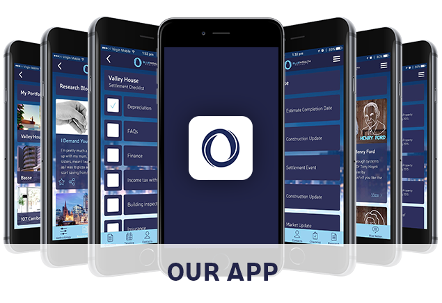 Blue Wealth Mobile App